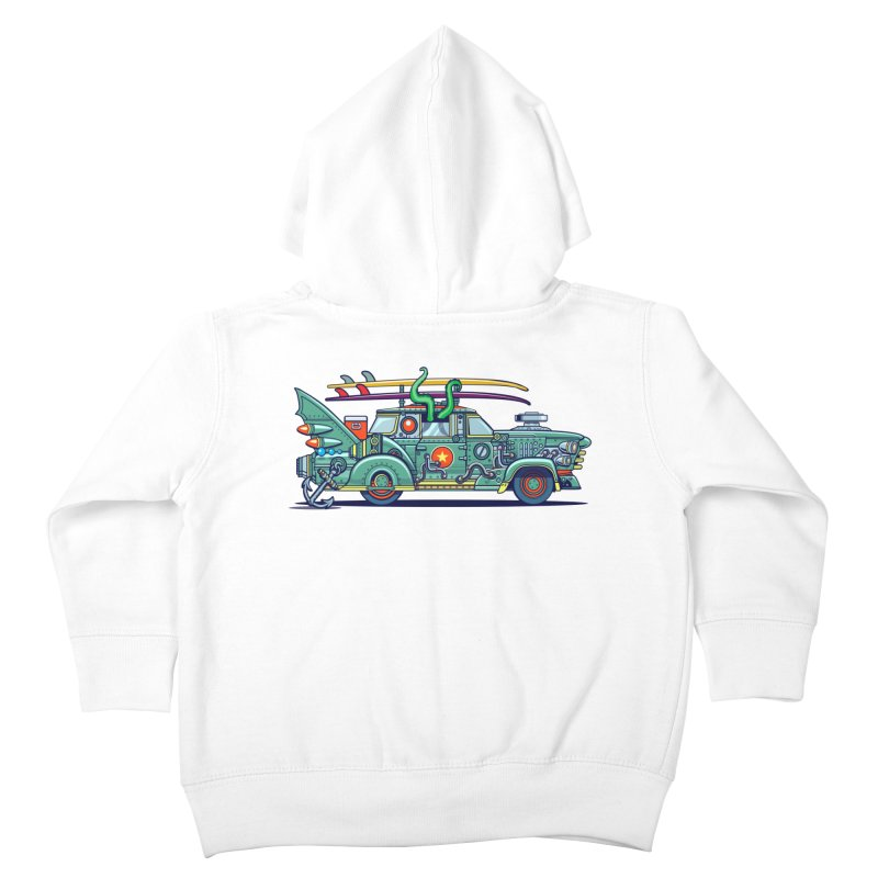 Surf's Up Kids Toddler Zip-Up Hoody by Jesse Philips' Artist Shop