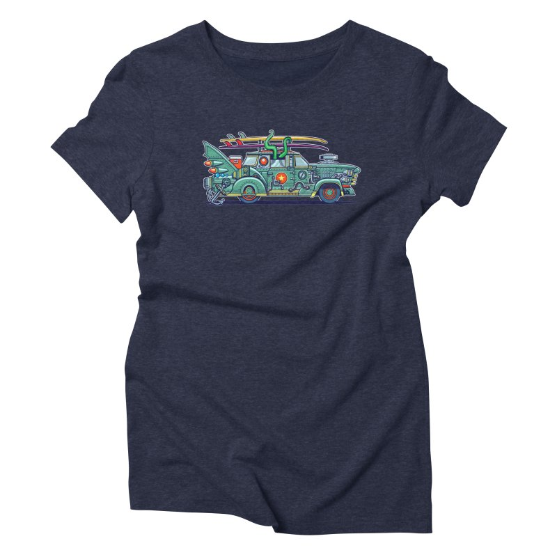 Surf's Up Women's Triblend T-Shirt by Jesse Philips' Artist Shop