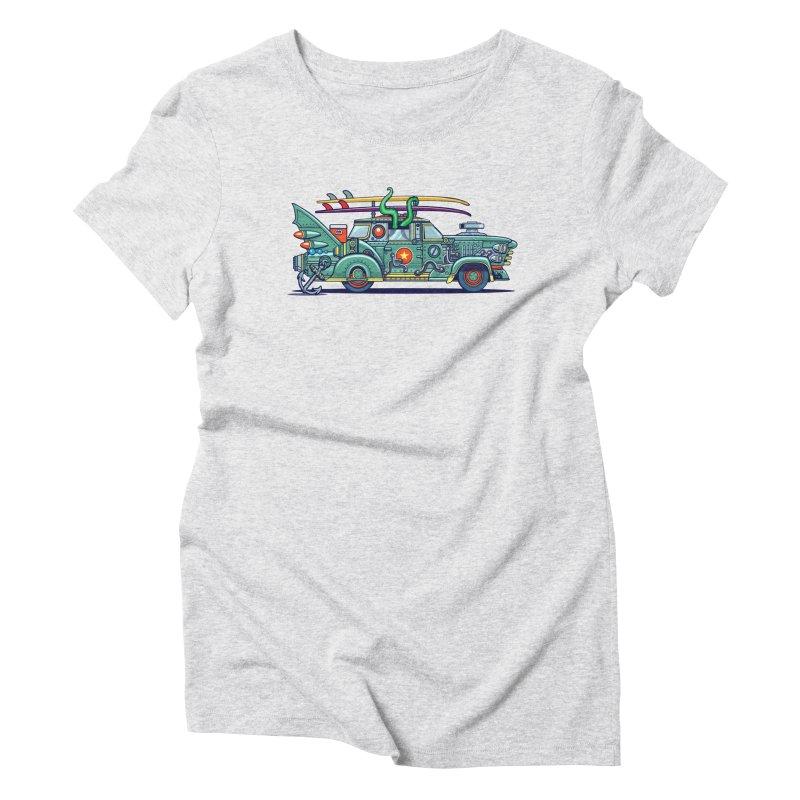 Surf's Up Women's T-Shirt by Jesse Philips' Artist Shop