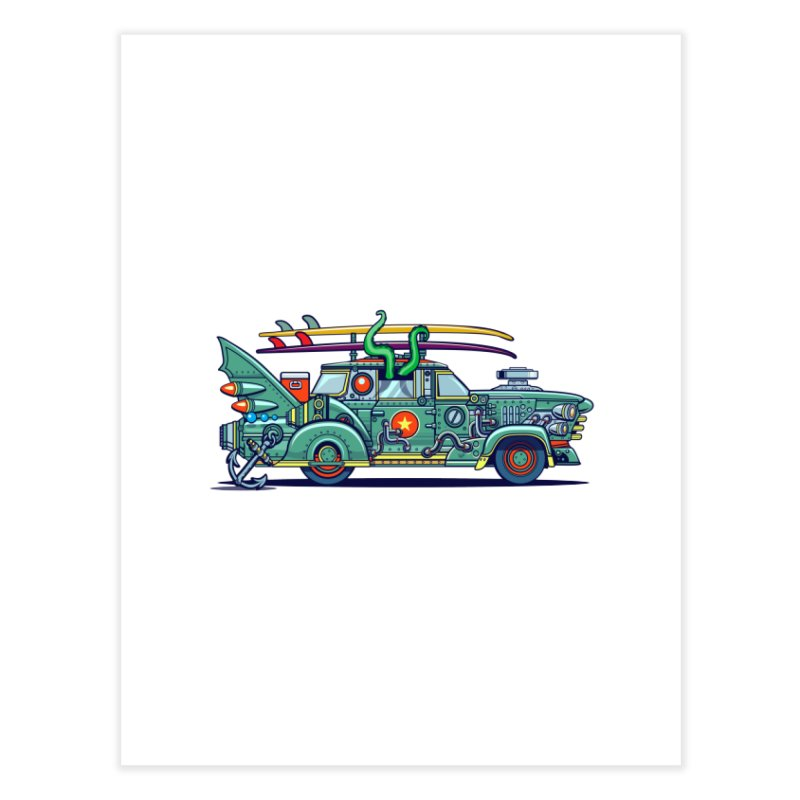 Surf's Up Home Fine Art Print by Jesse Philips' Artist Shop
