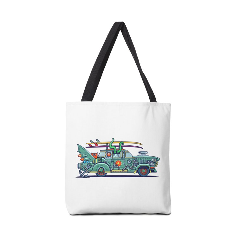 Surf's Up Accessories Tote Bag Bag by Jesse Philips' Artist Shop