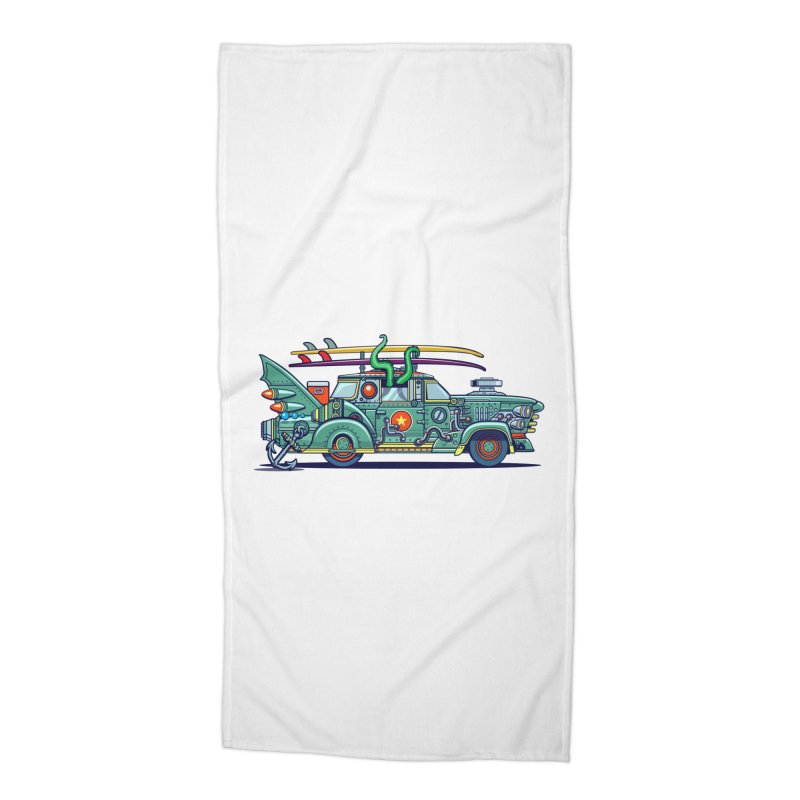 Surf's Up Accessories Beach Towel by Jesse Philips' Artist Shop