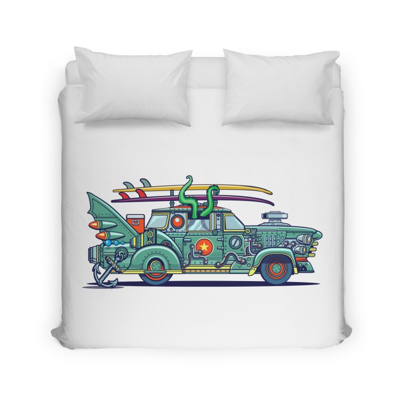 Surf's Up Home Duvet by Jesse Philips' Artist Shop