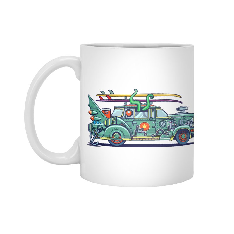 Surf's Up Accessories Mug by Jesse Philips' Artist Shop