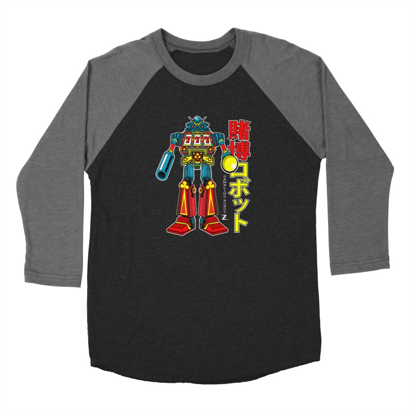 Super Slot-Bot Gamblor Men's Longsleeve T-Shirt by Jesse Philips' Artist Shop