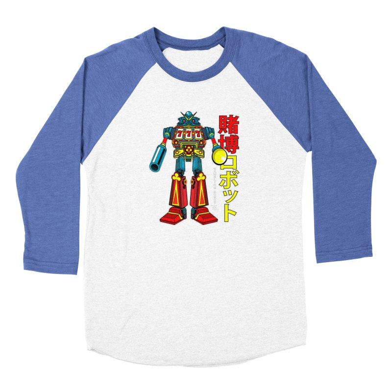 Super Slot-Bot Gamblor Men's Longsleeve T-Shirt by Jesse Philips' Artist Shop