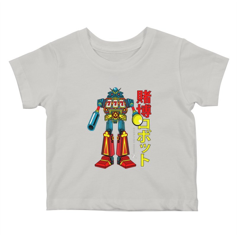 Super Slot-Bot Gamblor Kids Baby T-Shirt by Jesse Philips' Artist Shop