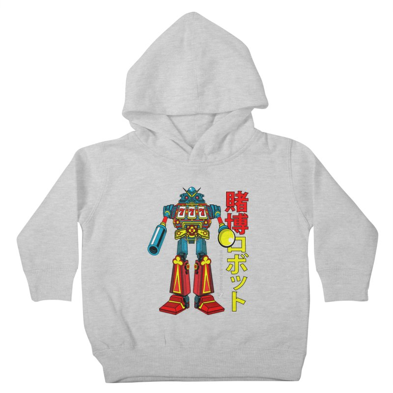 Super Slot-Bot Gamblor Kids Toddler Pullover Hoody by Jesse Philips' Artist Shop