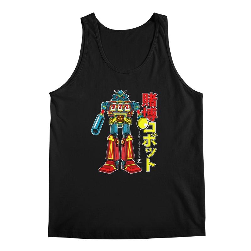 Super Slot-Bot Gamblor Men's Tank by Jesse Philips' Artist Shop