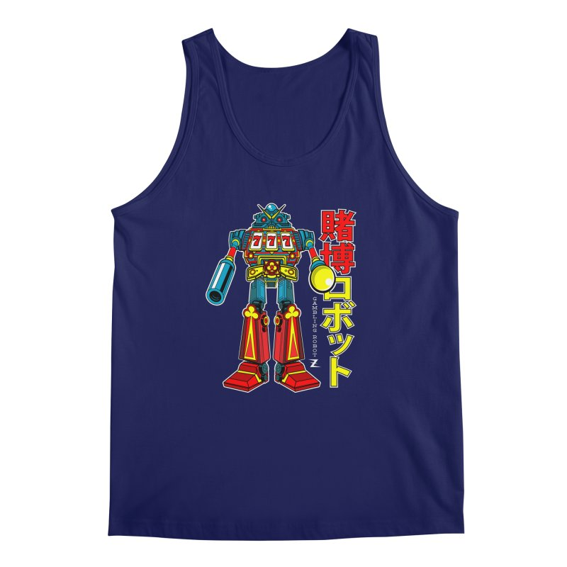 Super Slot-Bot Gamblor Men's Regular Tank by Jesse Philips' Artist Shop