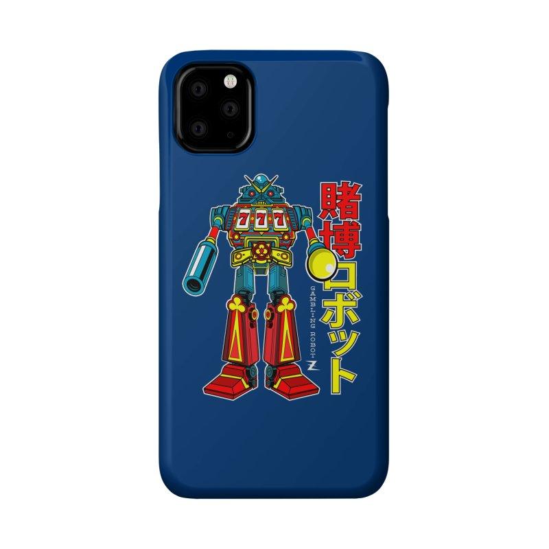 Super Slot-Bot Gamblor Accessories Phone Case by Jesse Philips' Artist Shop