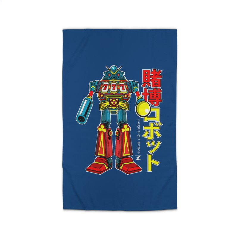 Super Slot-Bot Gamblor Home Rug by Jesse Philips' Artist Shop