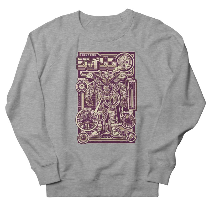 F-13 Robo-Jason Men's Sweatshirt by Jesse Philips' Artist Shop