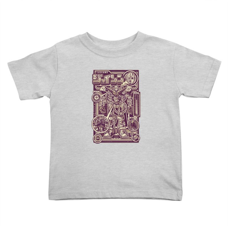 F-13 Robo-Jason Kids Toddler T-Shirt by Jesse Philips' Artist Shop