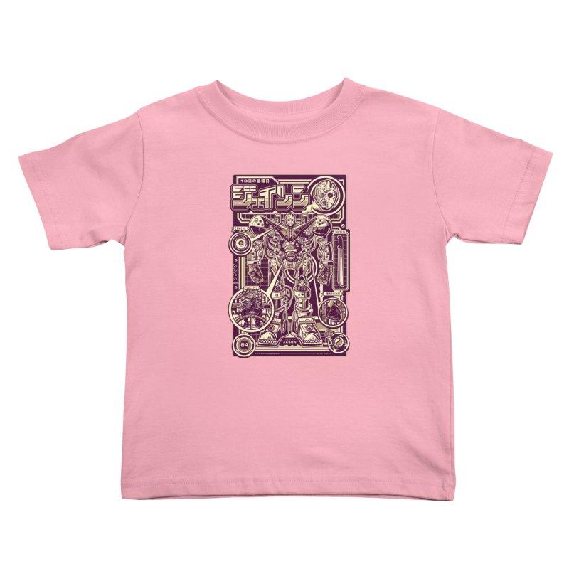 F-13 Robo-Jason Kids Toddler T-Shirt by Jesse Philips' Artist Shop