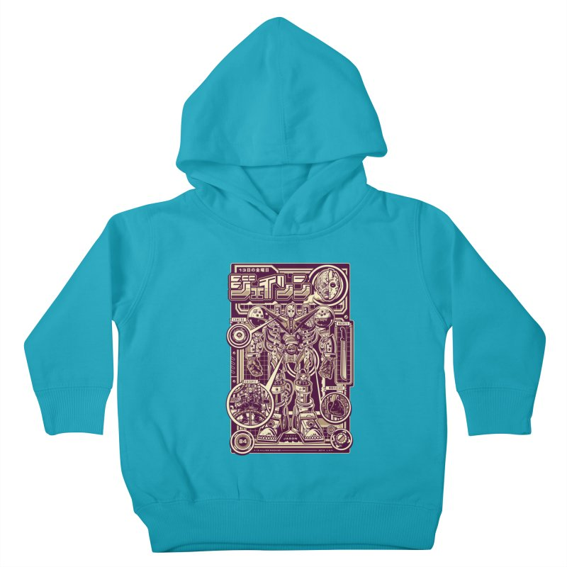 F-13 Robo-Jason Kids Toddler Pullover Hoody by Jesse Philips' Artist Shop