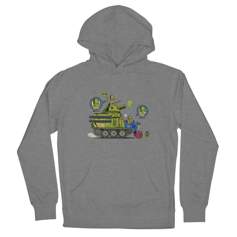Army Surplus Extra Special Men's French Terry Pullover Hoody by Jesse Philips' Artist Shop