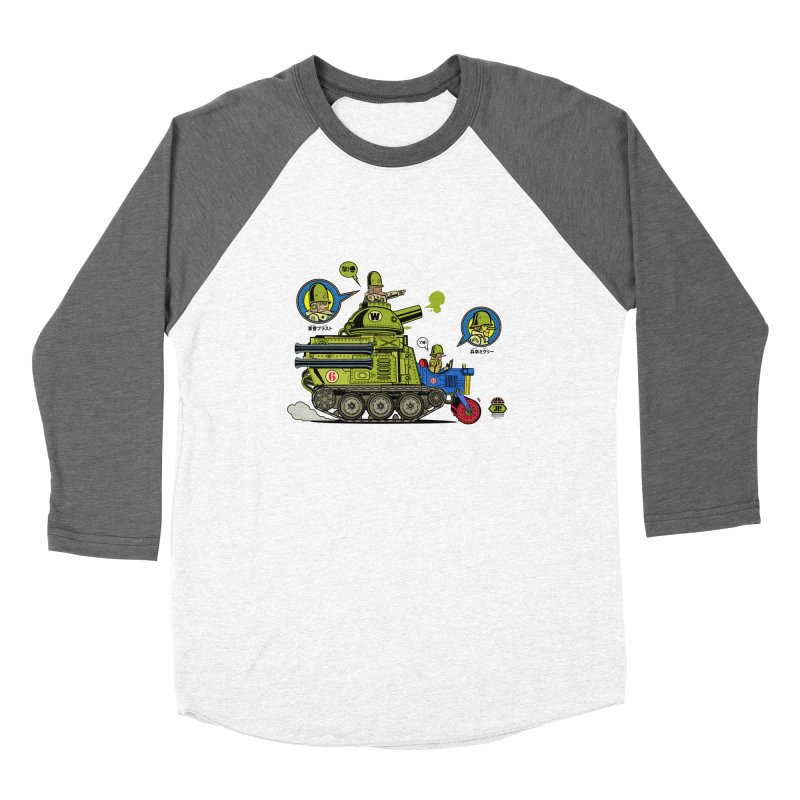 Army Surplus Extra Special Men's Baseball Triblend Longsleeve T-Shirt by Jesse Philips' Artist Shop