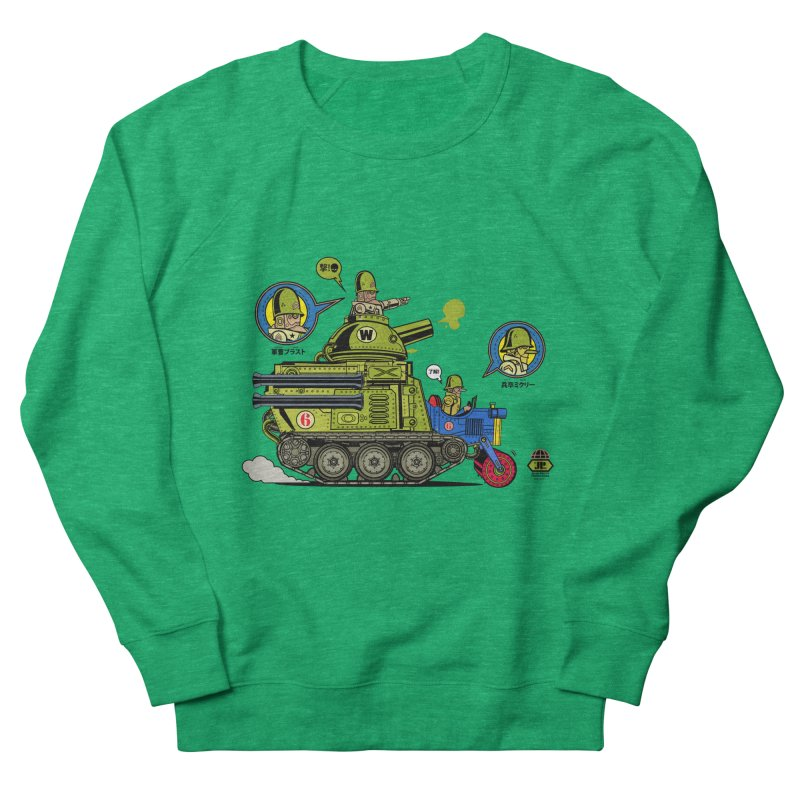 Army Surplus Extra Special Men's Sweatshirt by Jesse Philips' Artist Shop
