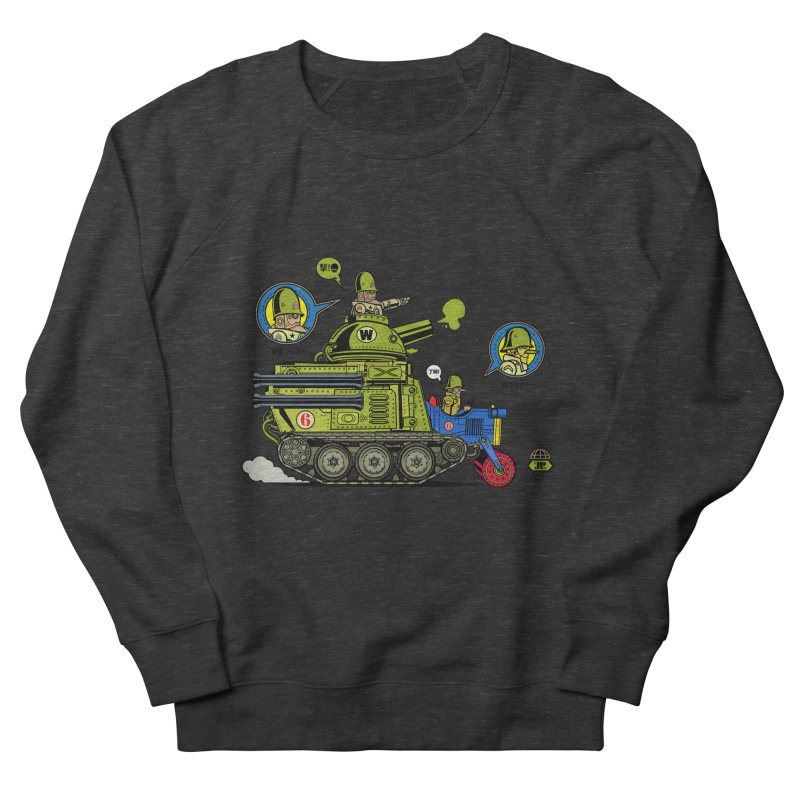 Army Surplus Extra Special Men's French Terry Sweatshirt by Jesse Philips' Artist Shop