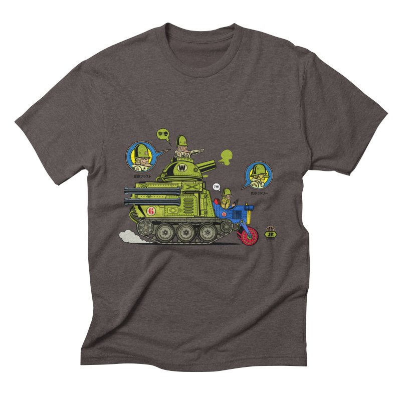 Army Surplus Extra Special Men's Triblend T-Shirt by Jesse Philips' Artist Shop