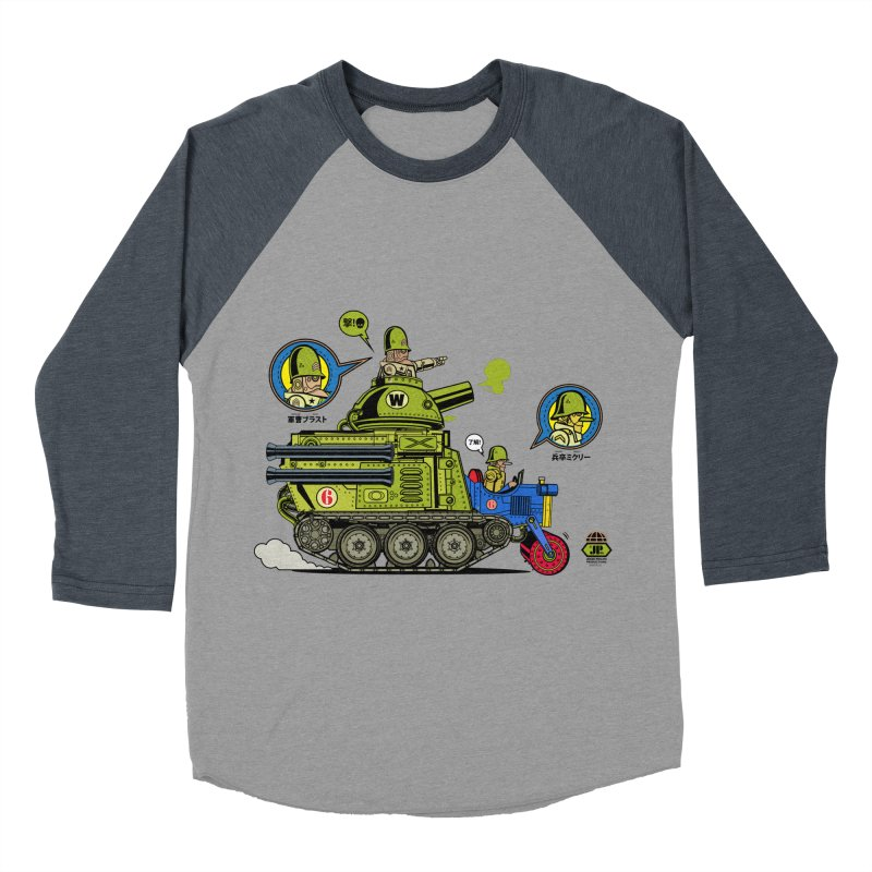 Army Surplus Extra Special Men's Baseball Triblend T-Shirt by Jesse Philips' Artist Shop