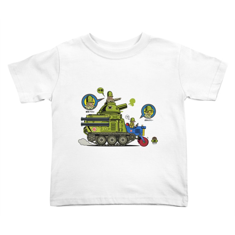 Army Surplus Extra Special Kids Toddler T-Shirt by Jesse Philips' Artist Shop