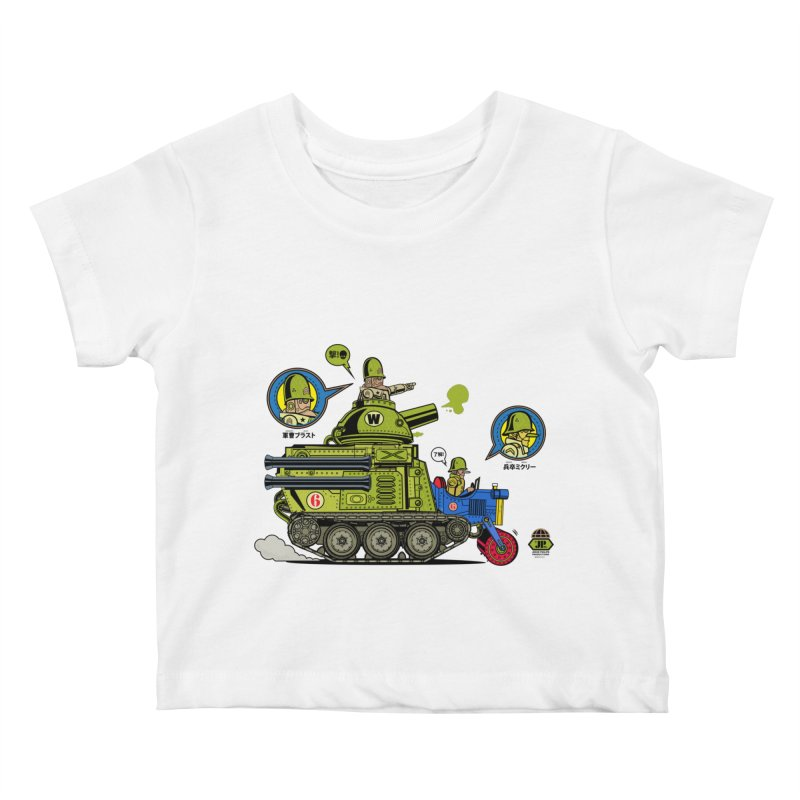 Army Surplus Extra Special Kids Baby T-Shirt by Jesse Philips' Artist Shop