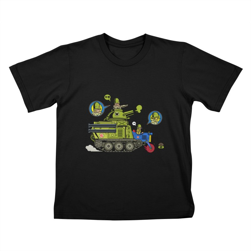 Army Surplus Extra Special Kids T-Shirt by Jesse Philips' Artist Shop