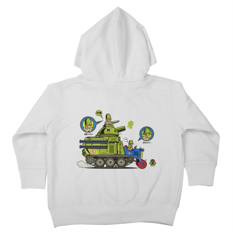 Army Surplus Extra Special Kids Toddler Zip-Up Hoody by Jesse Philips' Artist Shop