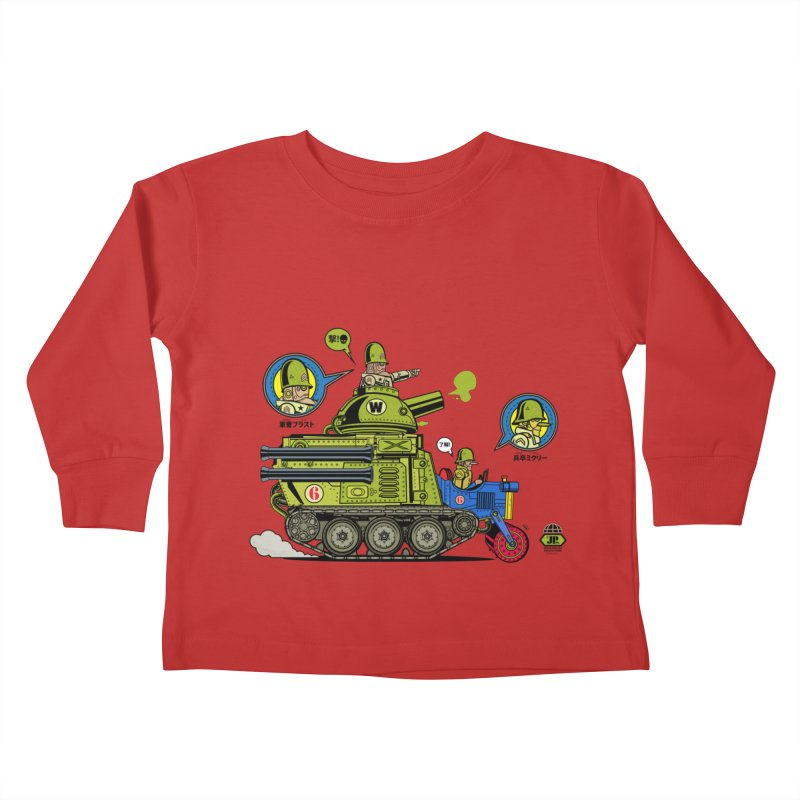 Army Surplus Extra Special Kids Toddler Longsleeve T-Shirt by Jesse Philips' Artist Shop