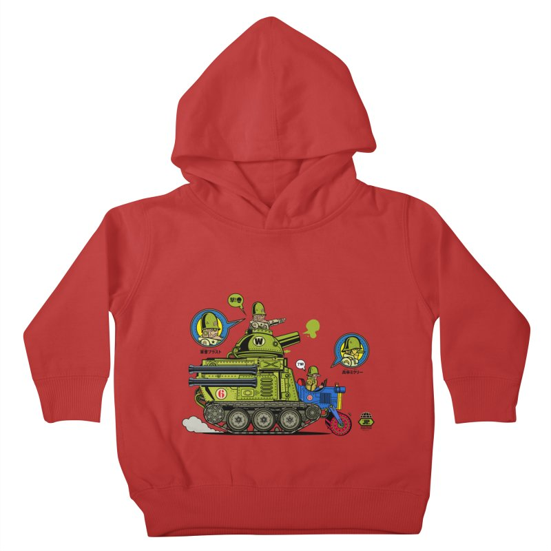 Army Surplus Extra Special Kids Toddler Pullover Hoody by Jesse Philips' Artist Shop