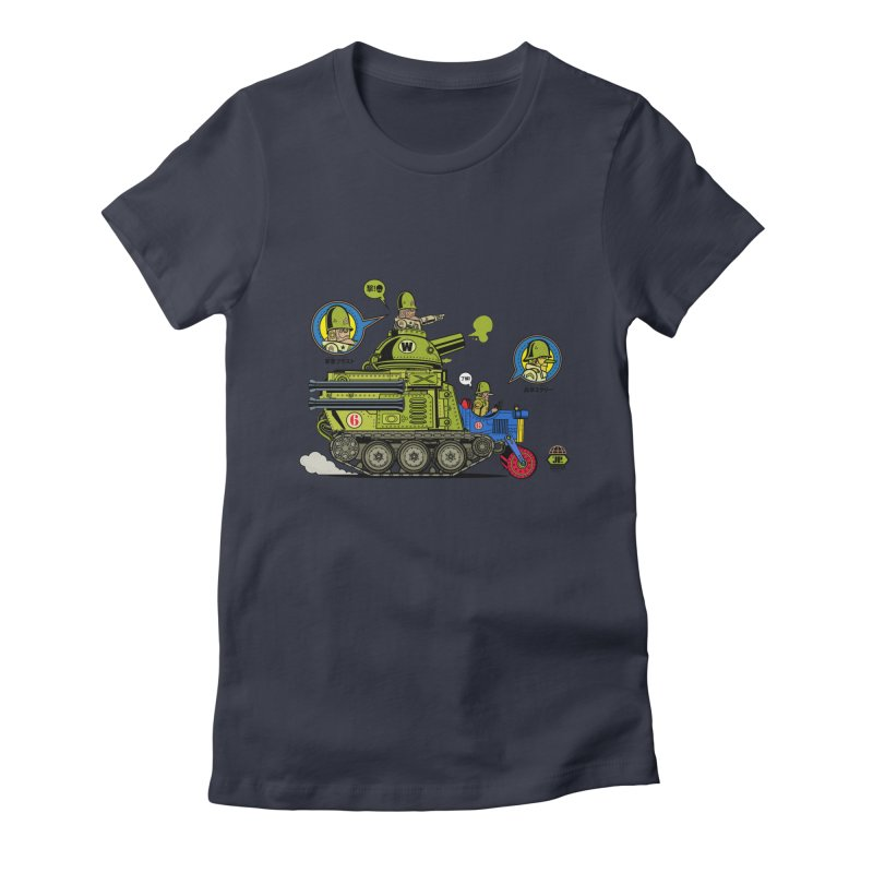 Army Surplus Extra Special Women's Fitted T-Shirt by Jesse Philips' Artist Shop