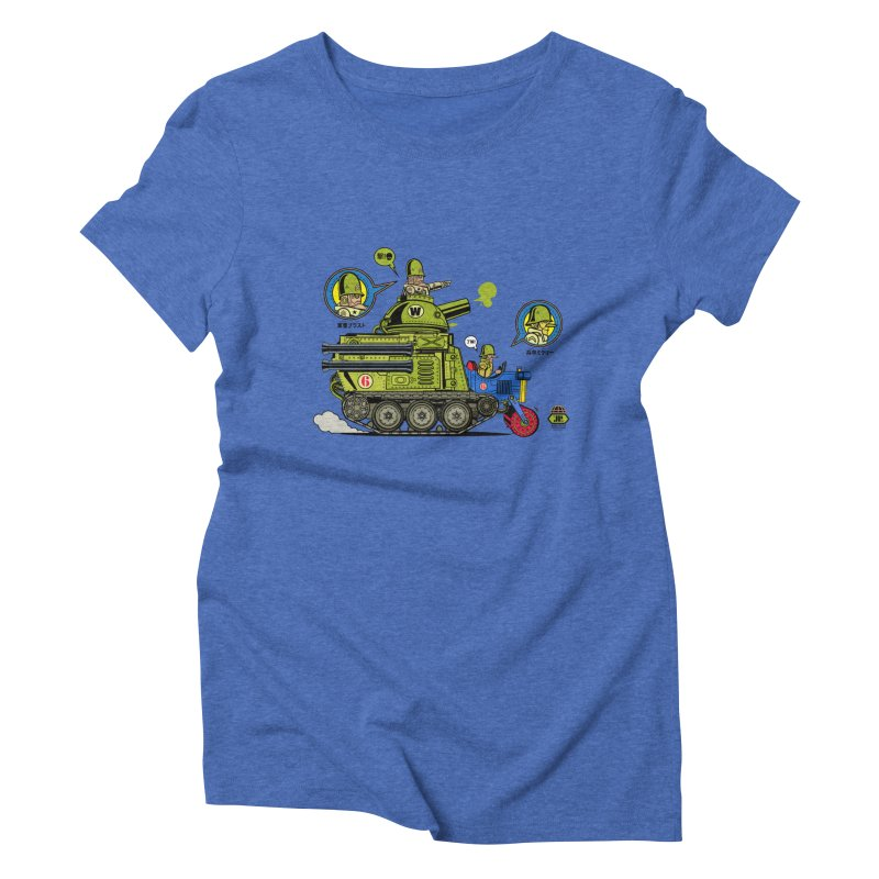 Army Surplus Extra Special Women's Triblend T-Shirt by Jesse Philips' Artist Shop
