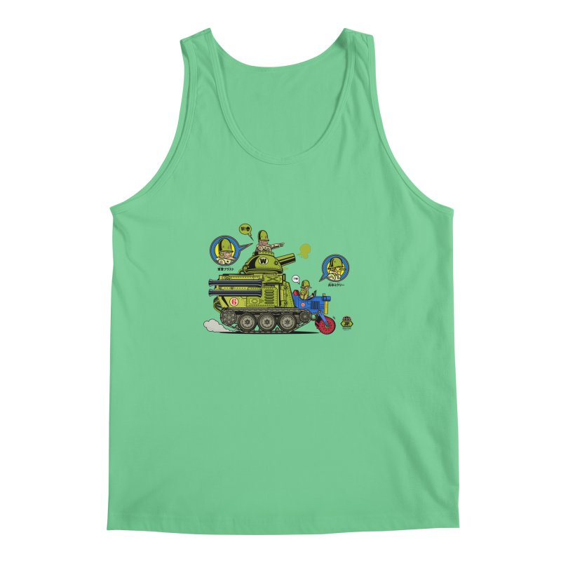 Army Surplus Extra Special Men's Regular Tank by Jesse Philips' Artist Shop