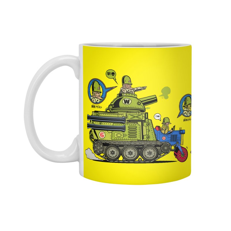 Army Surplus Extra Special Accessories Standard Mug by Jesse Philips' Artist Shop