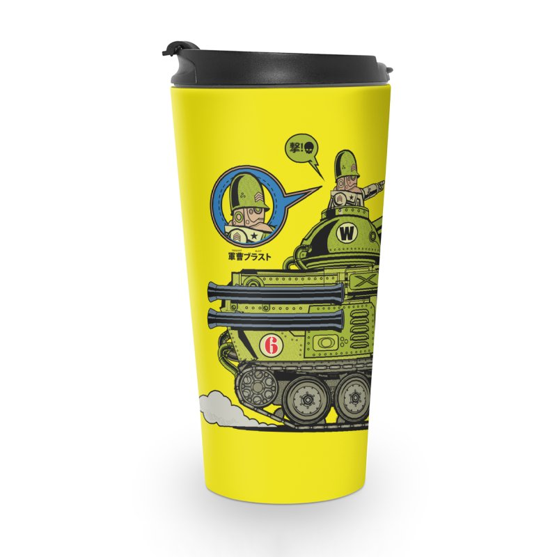Army Surplus Extra Special Accessories Travel Mug by Jesse Philips' Artist Shop