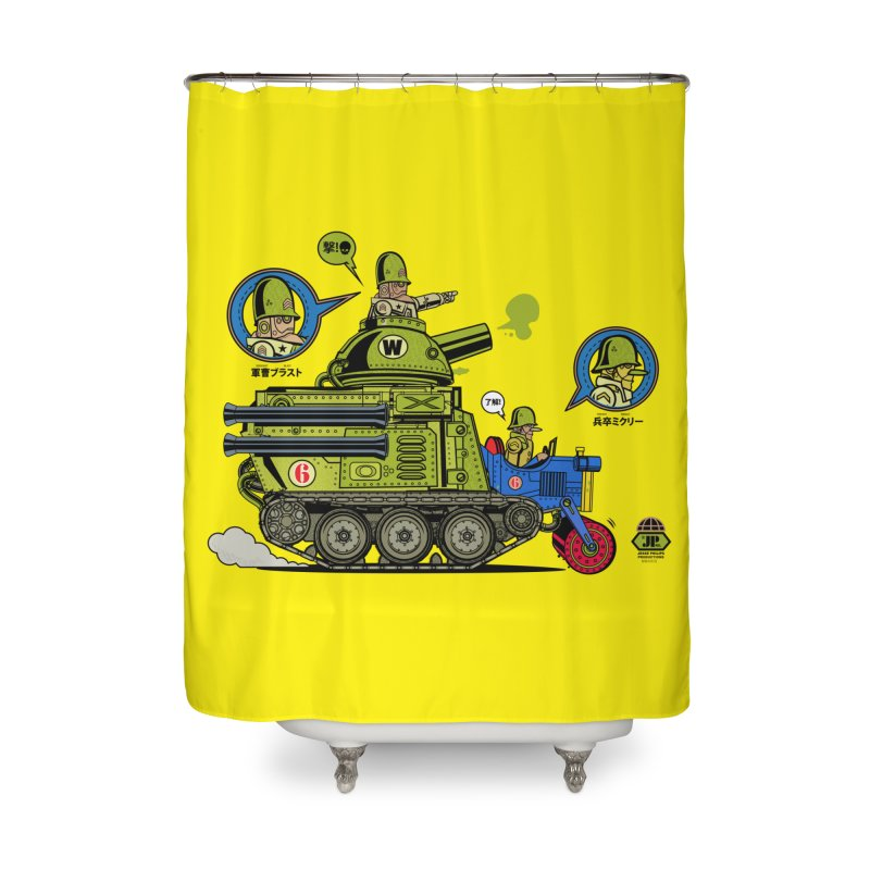 Army Surplus Extra Special Home Shower Curtain by Jesse Philips' Artist Shop