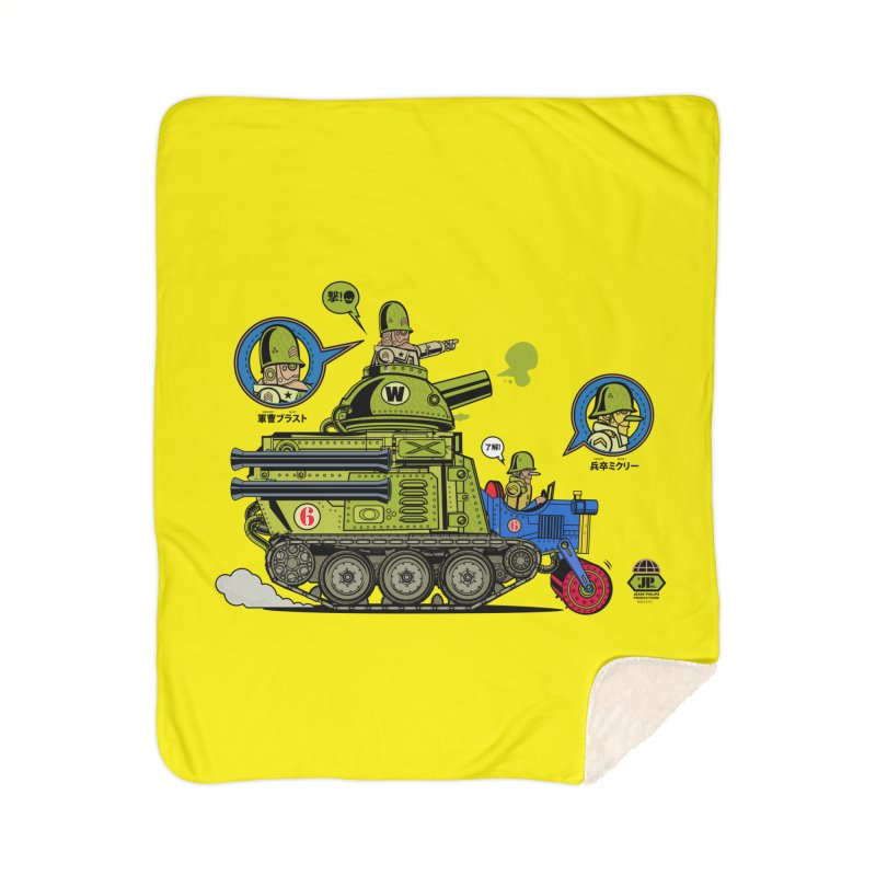 Army Surplus Extra Special Home Sherpa Blanket Blanket by Jesse Philips' Artist Shop