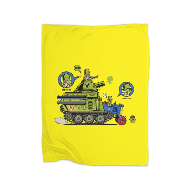 Army Surplus Extra Special Home Fleece Blanket Blanket by Jesse Philips' Artist Shop