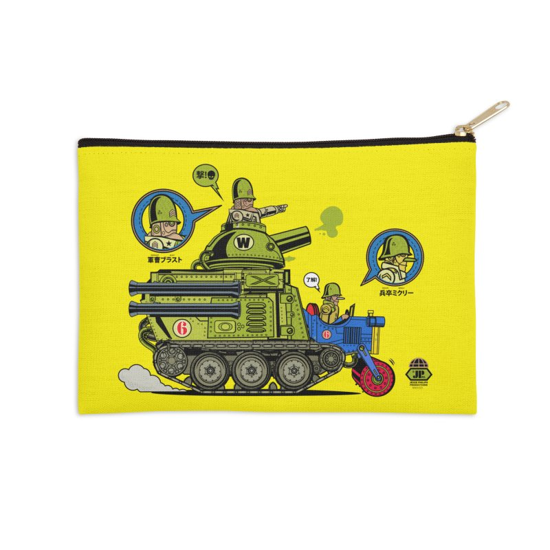 Army Surplus Extra Special Accessories Zip Pouch by Jesse Philips' Artist Shop