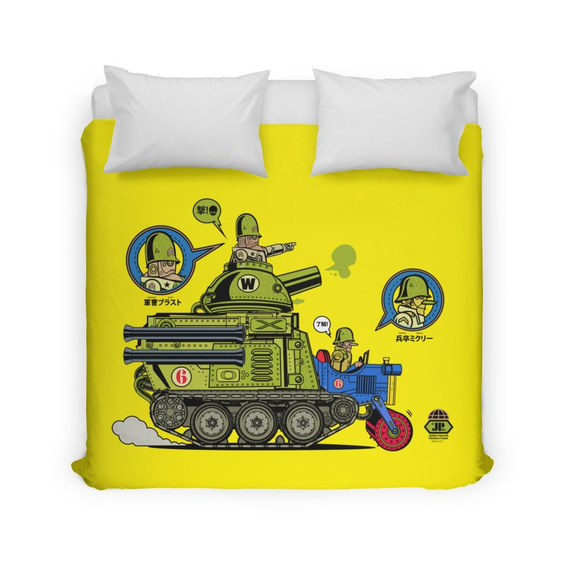 Army Surplus Extra Special Home Duvet by Jesse Philips' Artist Shop