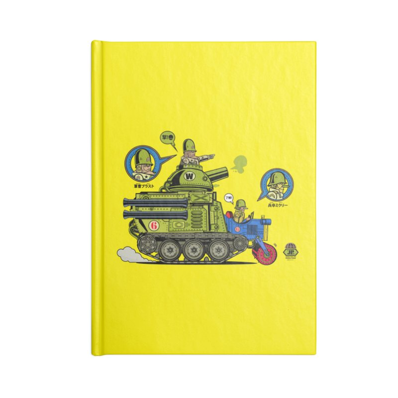 Army Surplus Extra Special Accessories Lined Journal Notebook by Jesse Philips' Artist Shop