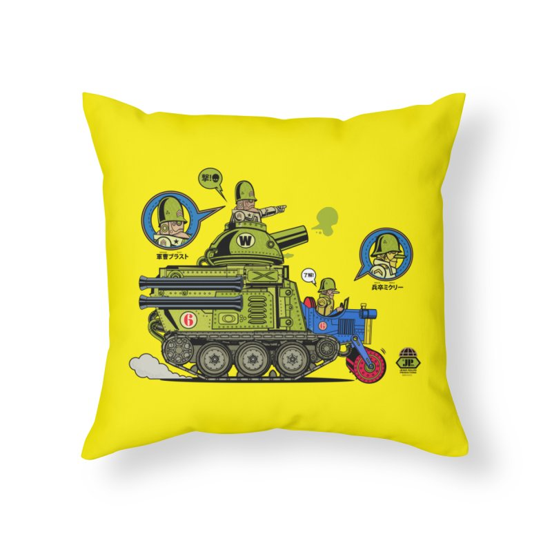 Army Surplus Extra Special Home Throw Pillow by Jesse Philips' Artist Shop