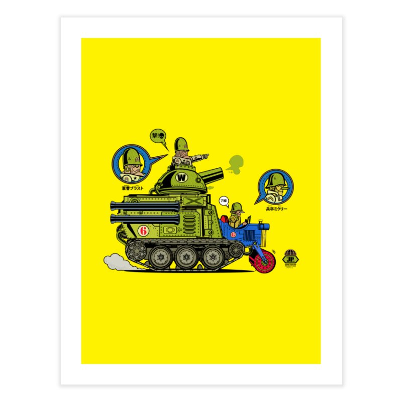 Army Surplus Extra Special Home Fine Art Print by Jesse Philips' Artist Shop