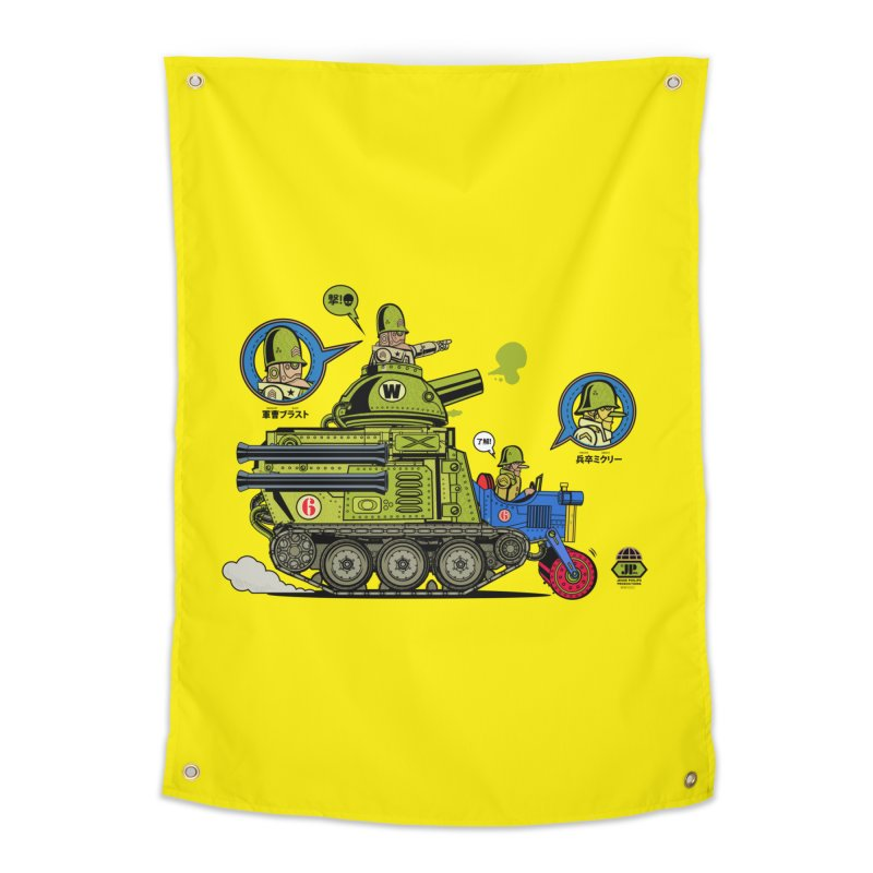 Army Surplus Extra Special Home Tapestry by Jesse Philips' Artist Shop