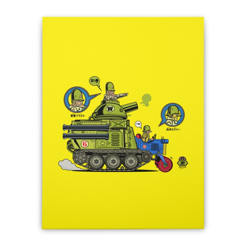 Army Surplus Extra Special Home Stretched Canvas by Jesse Philips' Artist Shop
