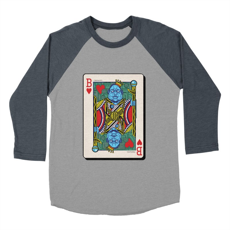 Notorious Men's Baseball Triblend Longsleeve T-Shirt by Jesse Philips' Artist Shop