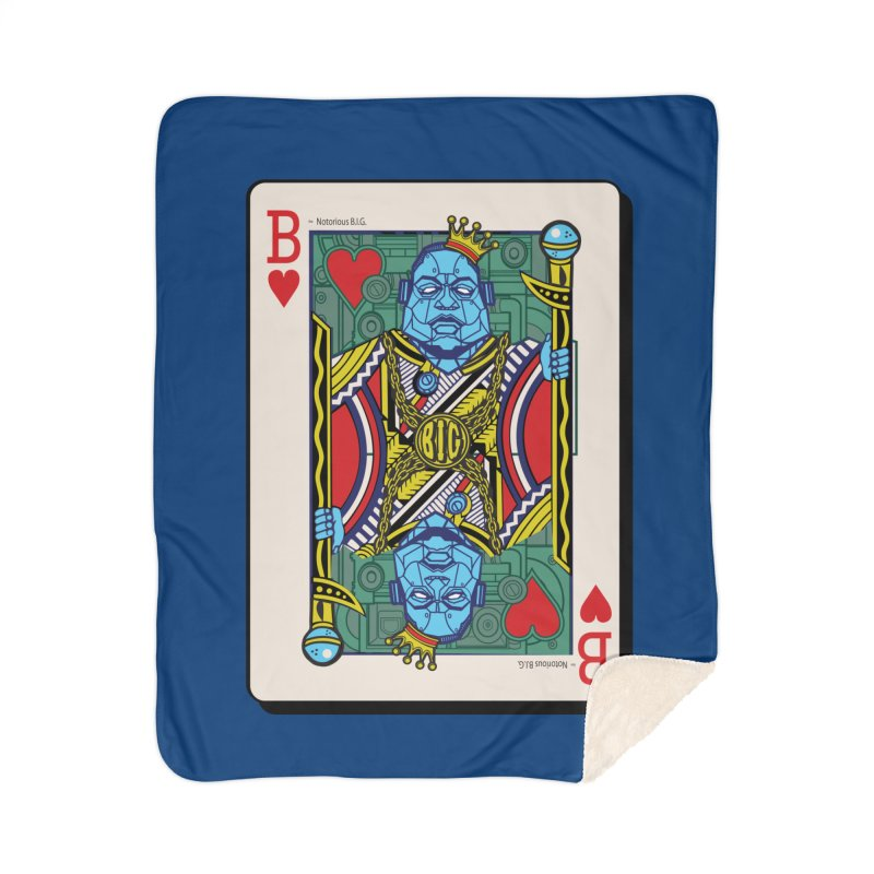 Notorious Home Sherpa Blanket Blanket by Jesse Philips' Artist Shop