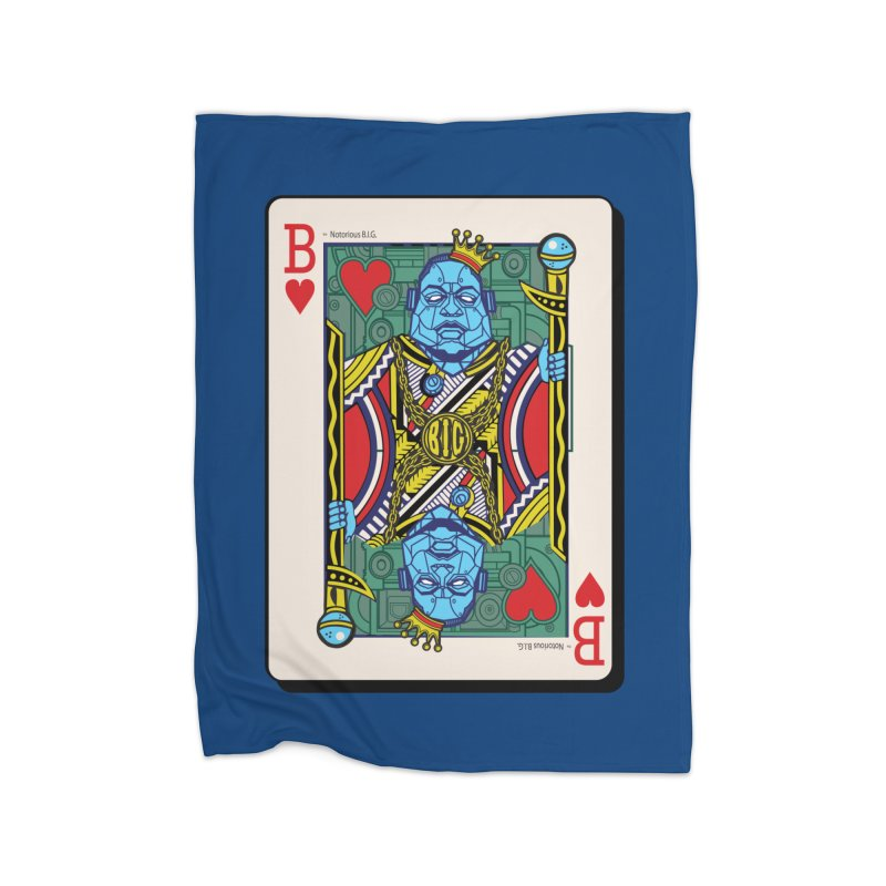 Notorious Home Fleece Blanket by Jesse Philips' Artist Shop